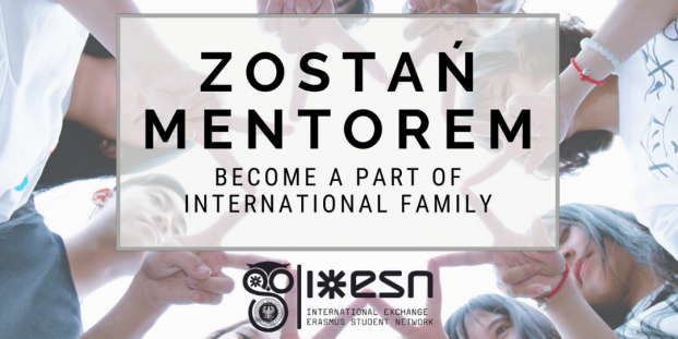 Zostań Mentorem - Become a part of International Family